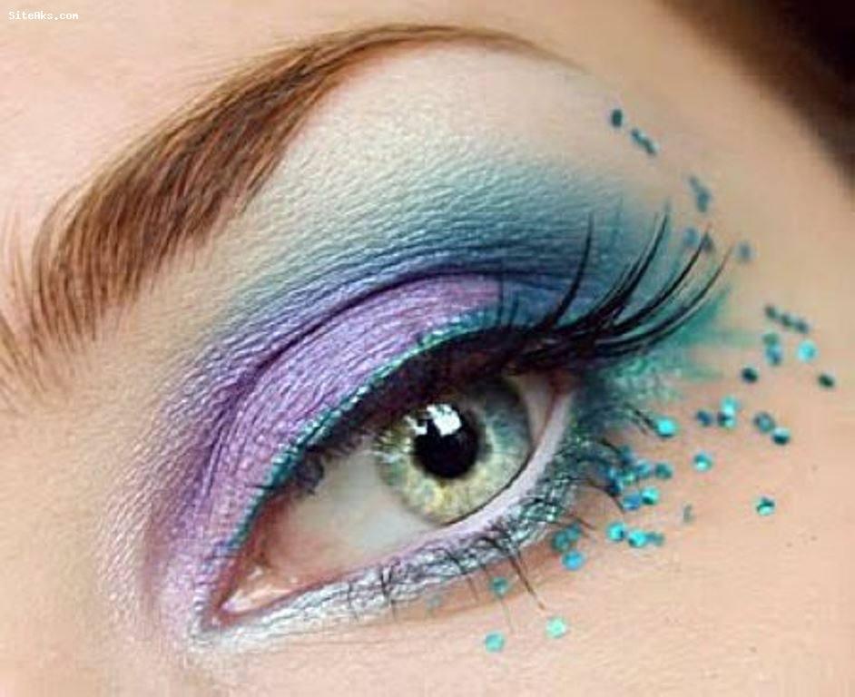 آرایش صورت آرایش و زیبایی  , مدل آرایش چشم
