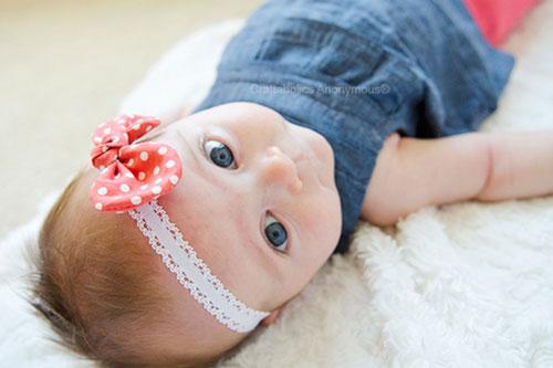 آموزش تل پارچه ای برای نوزاد