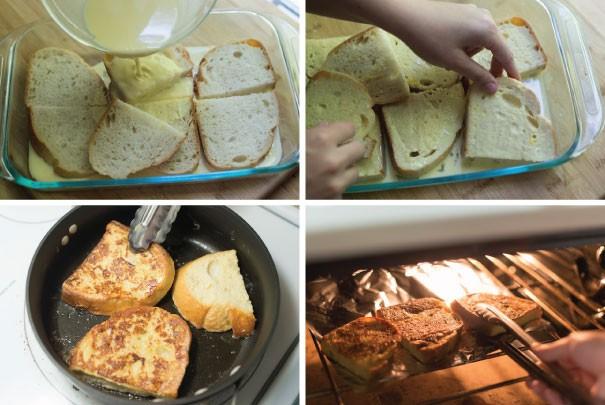 نان تست فرانسوی (فرنچ تُست)