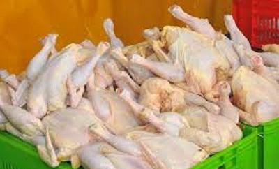 مرغ پاک نشده ژامبون کالباس مرغ