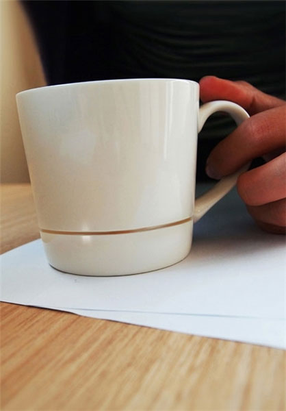 فنجانی که میزتان را کثیف نمیکند/تصاویر