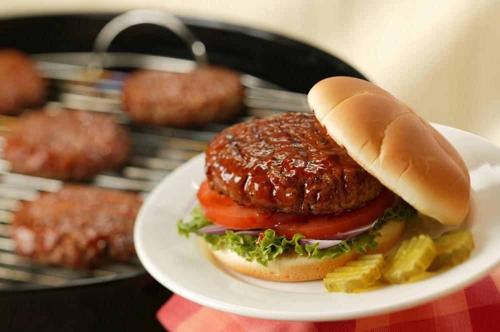 طرز تهیه همبرگر گوشت و سویا