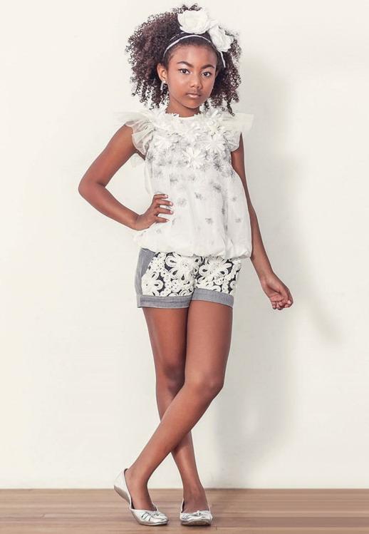 لباس دخترانه Impressinho