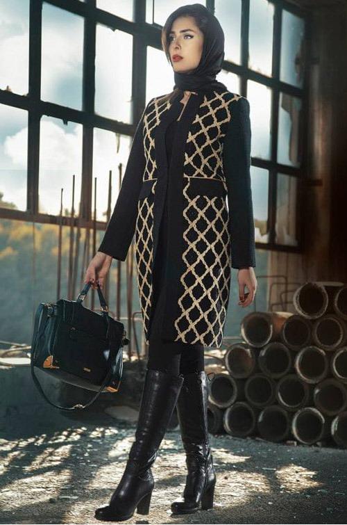 مدل جدید مانتو - مانتو دخترانه - مانتو مجلسی - مانتو پاییزی