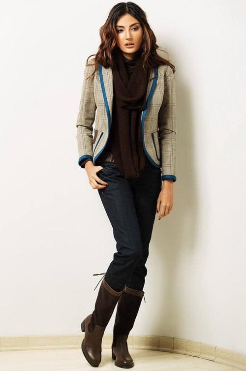 مدل لباس زنانه پاییزه برند ایرانی آنا