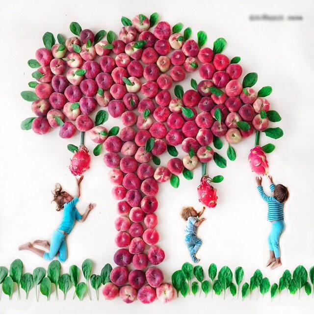 نقاشی , نقاشی با میوه ,نقاشی با سبزی ,نقاشی با میوه و سبزی ,نقاشی با میوه ها و سبزیجات ,نقاشی خلاقانه با میوه ,خلاقیت در نقاشی ,خلاقیت, نقاشی خلاقانه ,نقاشی های خلاقانه ,ایده در نقاشی ,ایده های جدید در نقاشی