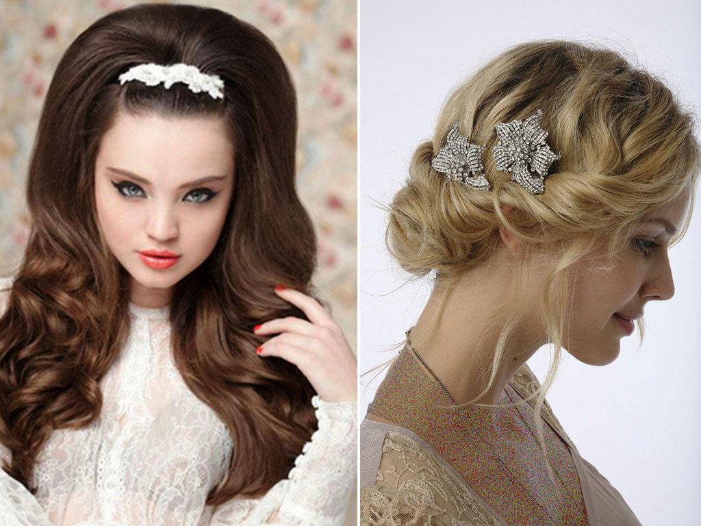مدل مو عروس - شینیون موی عروس - آرایش عروس