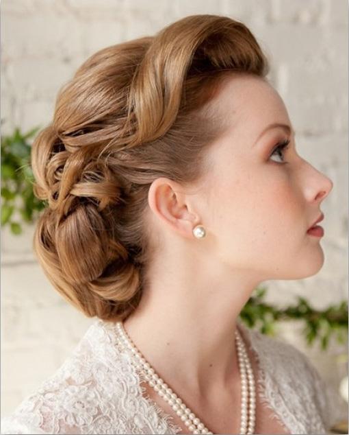 مدل مو , شینیون عروس , آرایش عروس, آرایش موهای عروس