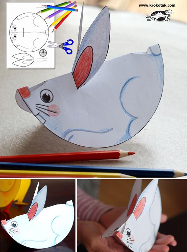 آموزش هنرهای دستی  , آموزش ساخت حیوانات کاغذی (2)