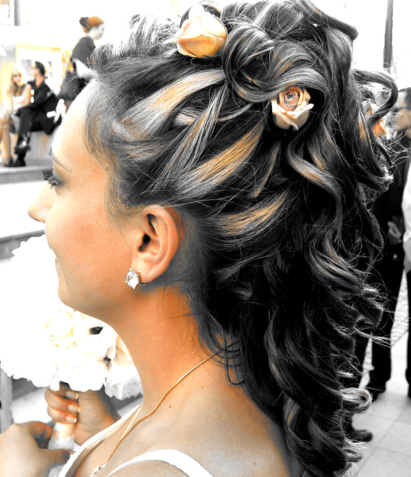 مدل مو عروس - شینیون موهای عروس - آرایش عروس