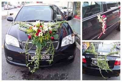ماشین عروس 2013, مدل ماشین عروس