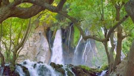 جاذبه های ایران گردشگری  , تنگ بستانک بهشت استان فارس
