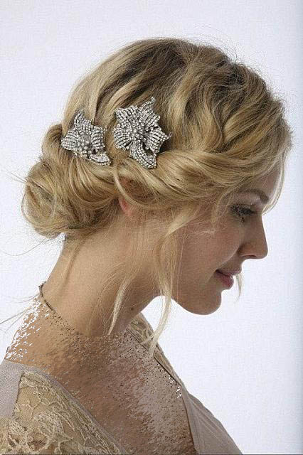 مدل موی عروس, شینیون عروس , آرایش عروس, آرایش موهای عروس