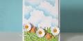 آموزش کشیدن آسمان ابری با اسفنج, آموزش نقاشی,نقاشی به روش ساده, آموزش ساخت تابلوی جالب نقاشی