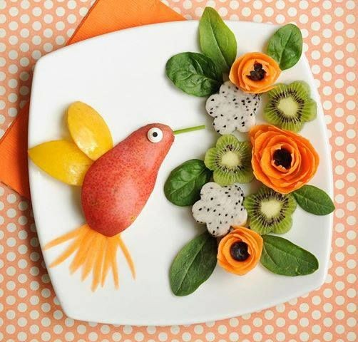 میوه آرایی - سبزی آرایی - تزیین میوه