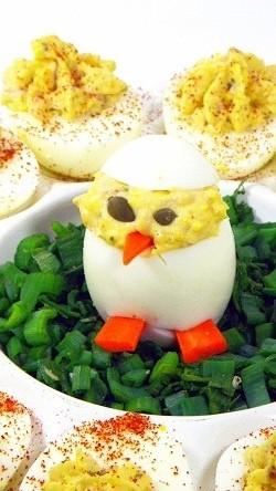 ایده های تزئین تخم مرغ آب پز