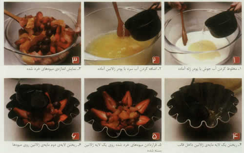 دسر شکلاتی ساده