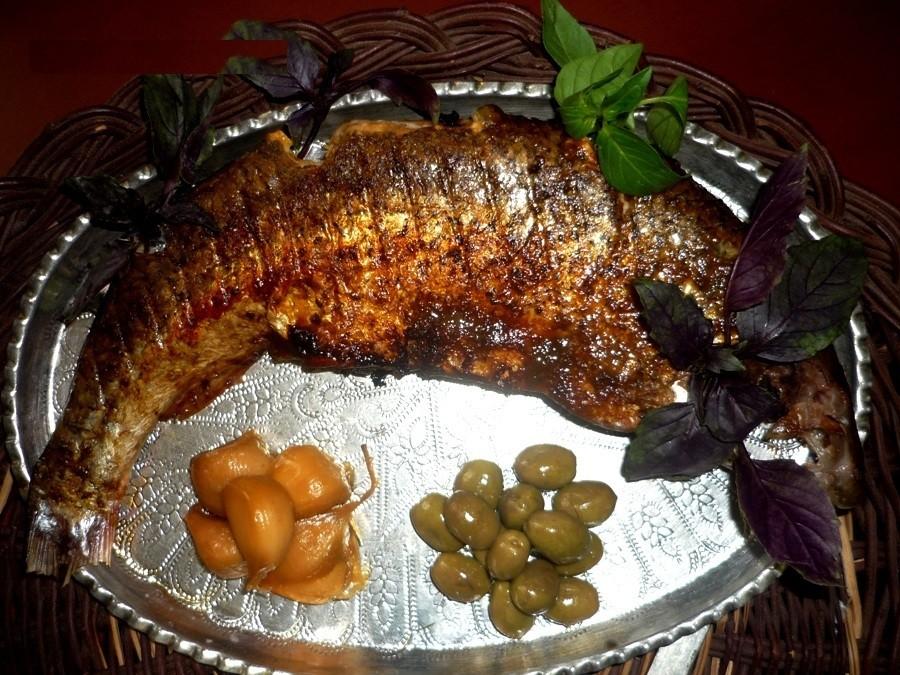 ماهی شکم پر بدون فر
