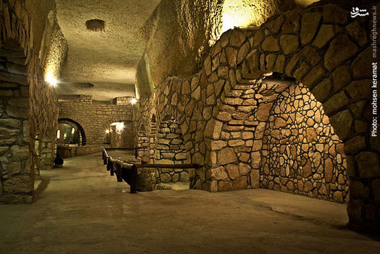 جاذبه های ایران گردشگری  , شهر زیرزمینی کاریز در جزیره کیش