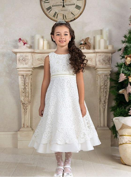 مدل لباس عروس بچه گانه - لباس عروس دخترانه - پیراهن مجلسی بچگانه
