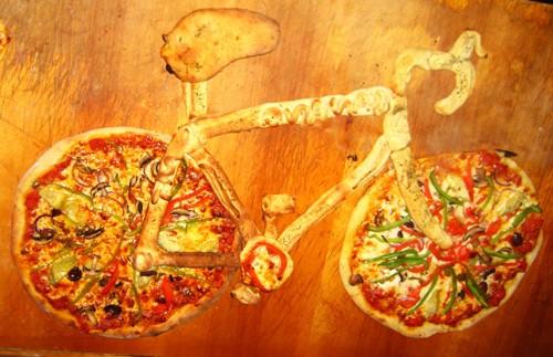 تزیین پیتزای خلاقانه و متفاوت , تزیین پیتزا
