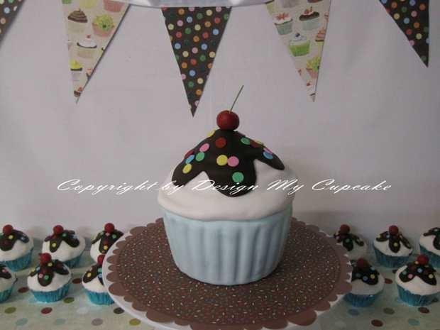 نان، شیرینی، دسر  , نمونه هایی از تزیین کاپ کیک