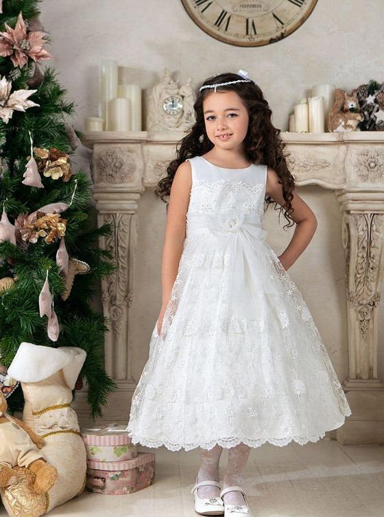 مدل لباس عروس بچه گانه,لباس عروس دخترانه, پیراهن مجلسی بچگانه,لباس پرنسسی سفید