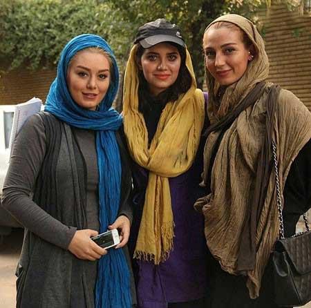 شخصیت های ایرانی عکس و کلیپ  , سلفی چهره ها در دنیای مجازی 34