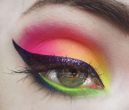 میکاپ چشم - آرایش چشم - سایه چشم - خط چشم