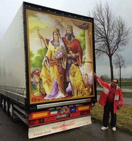 حرکت زیبای مرد ایرانی در اروپا سوژه رسانه ها شد (عکس)