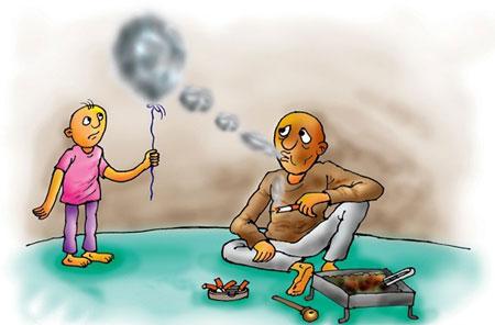 کاریکاتور روز – کاریکاتورهای بلای خانمان سوز اعتیاد-کاریکاتورهای مواد مخدر -کاریکاتورهای اعتیاد به مواد مخدر- کاریکـاتور های اعتیاد- کاریکاتورهای سیگار کشیدن
