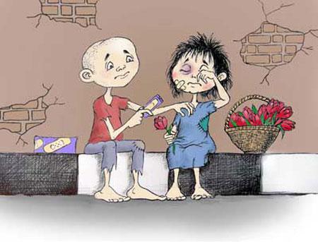 کاریکاتـور کودکان کار, کاریکاتور و تصاویر طنز, کاریکاتور مفهومی, کودکان کار, کاریکاتور غمگین,کاریکاتور جدید, تصاویر جذاب و دیدنی روز, کاریکاتور کودکان بی سرپرست, گدایی کودکان