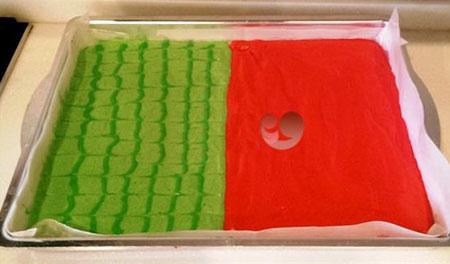 طرز تهیه رولت هندوانه ای ,طرز تهیه شیرینی مخصوص شب یلدا