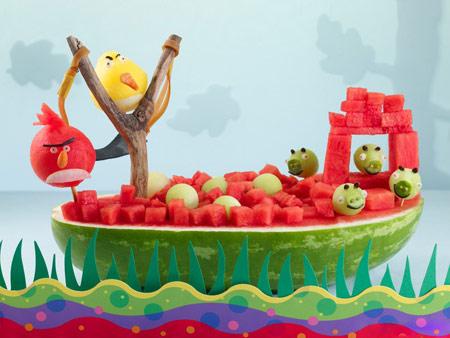 تزئین میوه٬ تزئین میوه شب یلدا٬ تزیین میوه٬میوه آرایی شب یلدا
