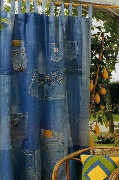ایده های جالب با جین,کاربرد جین های قدیمی