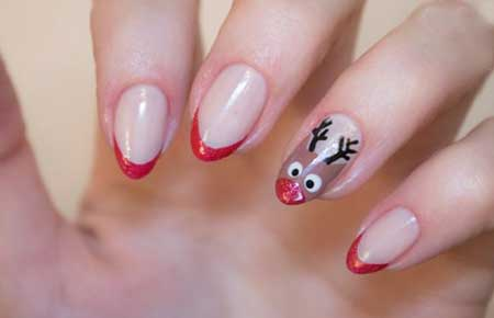 مدل آرایش ناخن,آرایش ناخن برای کریسمس 2015,مدل آرایش ناخن برای کریسمس