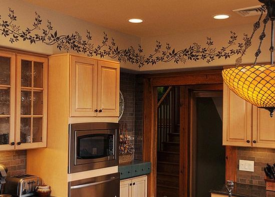 نقاشی روی دیوار,دکوراسیون ,زیباسازی منزل ,تغییر دکوراسیون, رنگ کردن دیوار