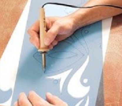 آموزش هنرهای دستی  , آموزش تکنیک استنسیل روی دیوار