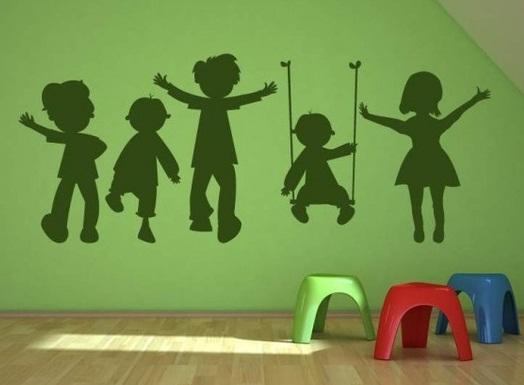 آموزش هنرهای دستی  , الگوهایی برای نقاشی روی دیوار ( استنسیل )