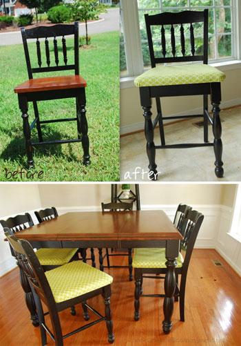 درست کردن رومبلی برای صندلی های قدیمی