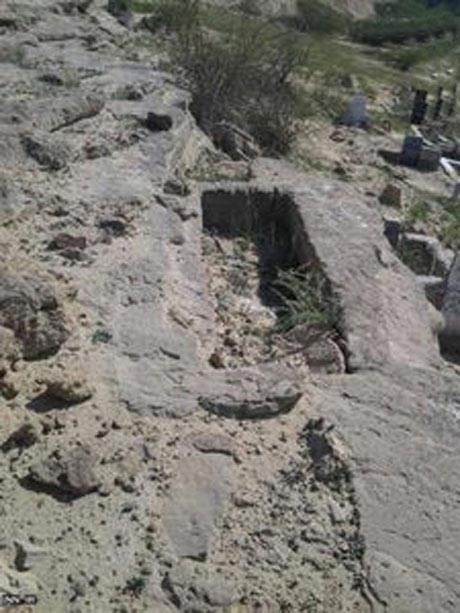 عکس های قبرستان جن ها در ایران!