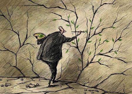 کاریکاتور مفهومی, کاریکاتور های جدید و دیدنی