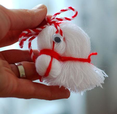 کاردستی سر اسب با کاموا, کاردستی, کاردستی کودکانه, کاردستی برای کودکان, کاردستی های جالب, کاردستی با کاموا, آموزش کاردستی به کودکان