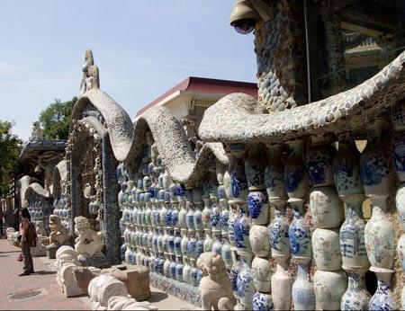 کاخ بسیار دیدنی سی فانگزی (کاخ سفالی ) در چین
