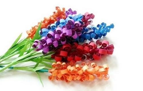 آموزش تصویری ساخت دسته گل کاغذی - آموزش گلسازی