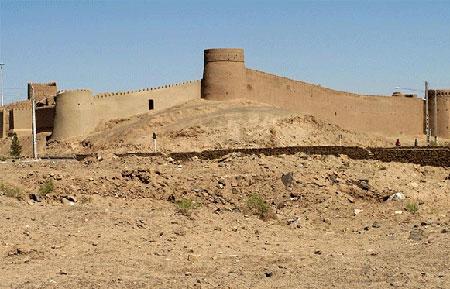 ارگ تاریخی انار,ارگ تاریخی انار در کرمان,تصاویر ارگ تاریخی انار