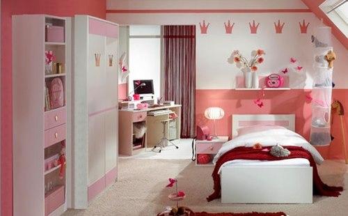 دکوراسیون اتاق کودک, اتاق کودک ,دکوراسیون, چیدمان اتاق کودک, دکوراسیون اتاق دختران, اتاق خواب دختران