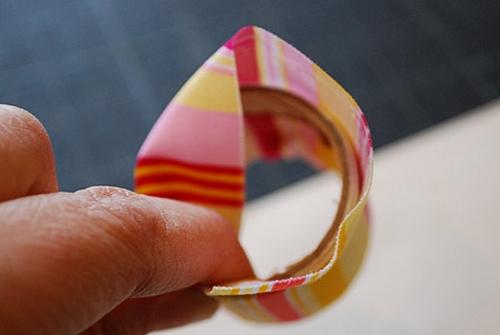 آموزش هنرهای دستی  , آموزش ساخت حلقه برای تزیین دستمال سفره