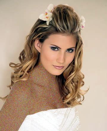 آرایش موی عروس , آرایش و موی عروس , تزیین موی عروس