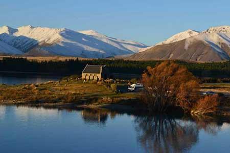 جاذبه های سایر کشورها گردشگری  , طبیعت زیبا و بکر نیوزیلند